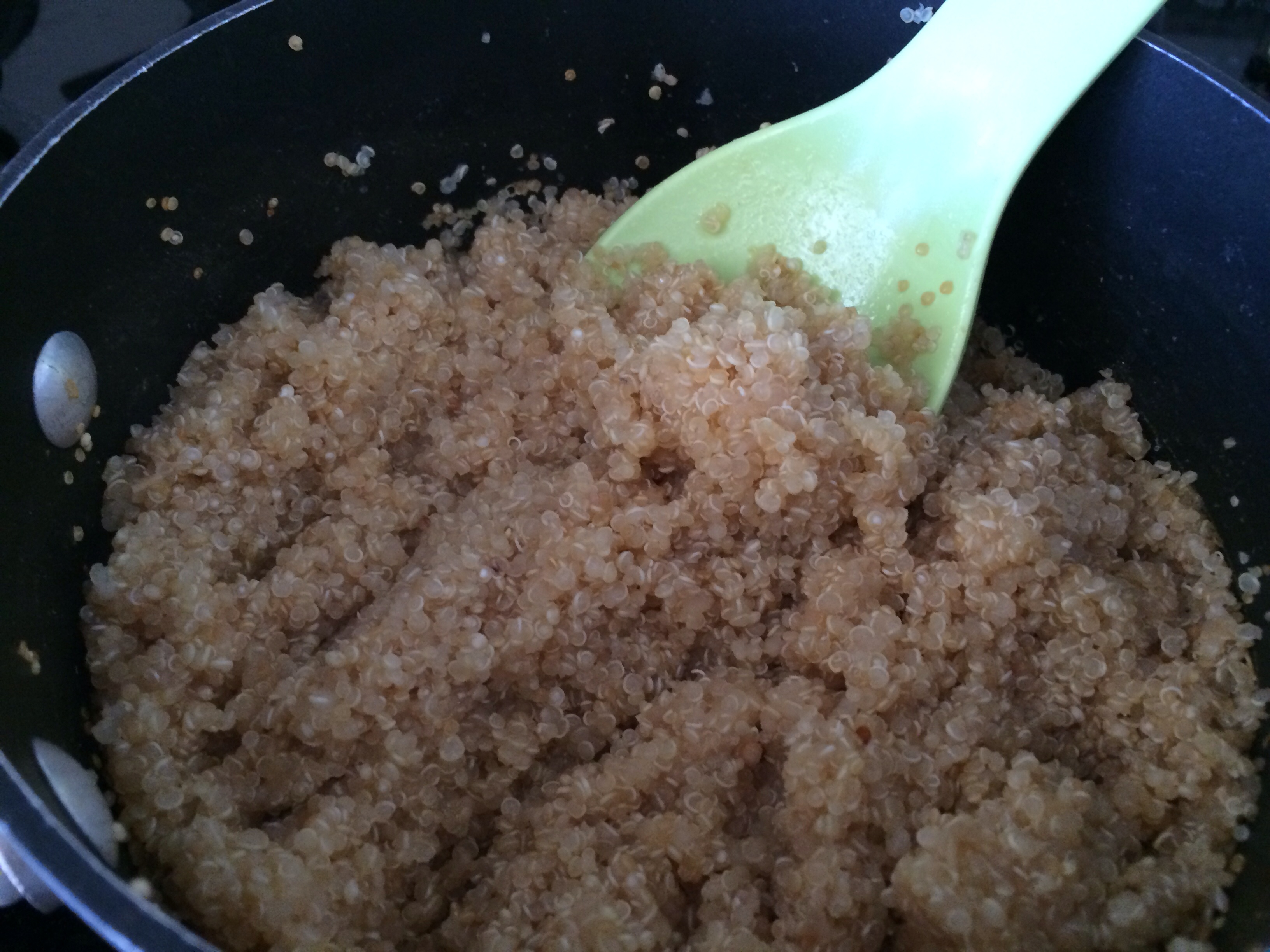 1 Cup Quinoa 2 Cups Water It Absorbs The Liquid!
