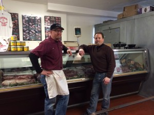 Ken and Jim!  Dynamic Duo of all things meat! Stop in and see them!