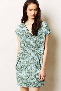 Anthropologie Serpentes Print Tunic $148! Great colors!