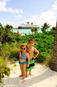 Castaway Cay is Disney's private island in the Bahamas! Make sure your ship stops here!