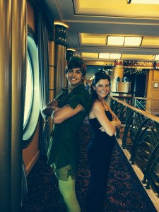 Bump into your favorite Disney characters all day on the ship!