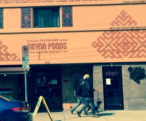 Reyna foods carries huge bags of fresh tortilla chips and a variety of homemade salsas and guacs!! Entertaining the girls? Couples? Whip up some margaritas  and mojitos to accompany the chips and dips! Apps and drinks done! Ole!