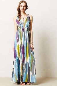 Brushstrokes Maxi !! Colorful, airy...Spring!