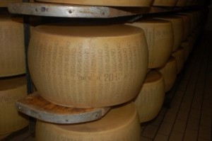 Photo from Forbes article! This is real Parmesan -reggiano cheese!