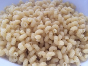 I love the size, texture and chewiness of cavatappi pasta for Mac 'n cheese!