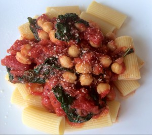 If you like greens and beans, you will love this dish! Enjoy!