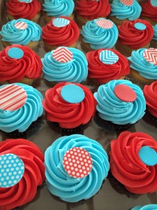 I love to do cupcakes for kids birhday parties! Super easy! No cutting/serving/forks nightmare.