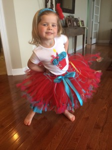 The fullest tutu ever!!