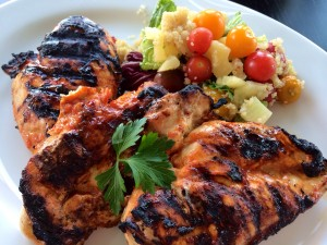The perfect spring or summer meal!! We loved it! I hope you will, too!!
