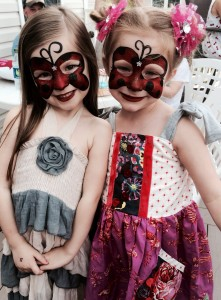 Two beautiful ladybugs!!