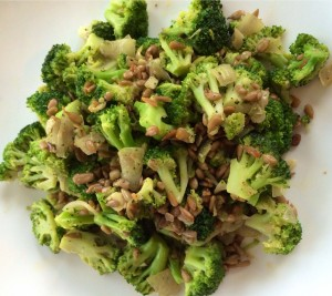 Be careful not to overcook the broccoli! Keep the crunch!