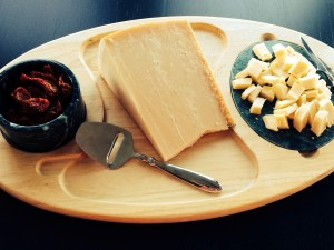And of course a spectacular cheese platter of Parmesan Reggiano and Parrano!