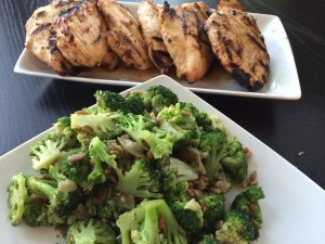 Grilled chicken and a nutritious vegetable side! Could it really be unhealthy?
