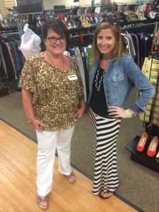Clothes Mentor franchise owner Cindy Martin also owns the teen brand consignment store Plato's Coset next door Bridgeville, PA