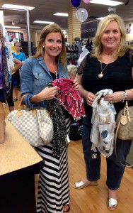 Bethany and I share a love for fashion and bargains! Oh yeah, and scarves!
