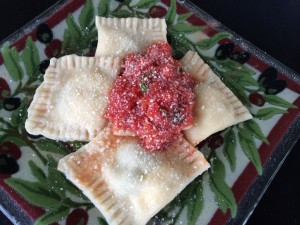 Ravioli ... A little pocket of a surprise taste explosion. I love creating different flavor combinations!