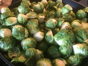 Brussels sprouts are one of the world's healthiest foods! Fiber containing, cancer fighting, cholesterol lowering, vitamin filled...Visit http://www.whfoods.com/genpage.php?tname=foodspice&dbid=10 to learn more about their health benefits!!