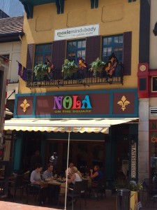 Looks great on the outside. Taste great on the inside! NOLA on the square reopens with new menu offerings!