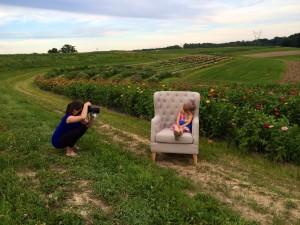 Amy is so talented! Laying in the grass, in the weeds...she gets the shot!