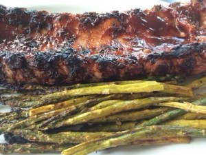 Amazing ribs! It's all in the sauce!