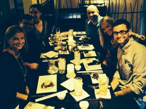 The Steel trap, Everybody loves Alex, Steel City Fox, Pittsburgh Taste Bud B ...new foodie friends! Lots of laughs!