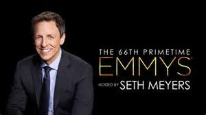 66th Primetime Emmy Awards hosted by Seth Meyers! Monday August 25th @8pm!
