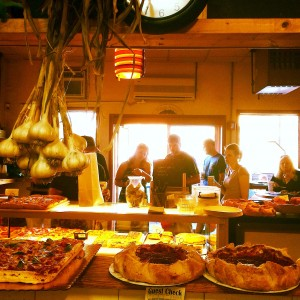 View from the kitchen - Colangelo's Bakery