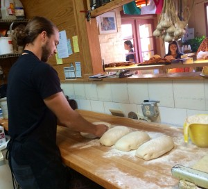Nicholas is so talented and motivated. A skilled baker working many nights with his father, Nicholas is learning the biz by having side jobs at other restaurants and pizzerias. His dream? To share his love for fishing with children and co-founding the area's first fishing school. While running the successful bakery restaurant, of course.