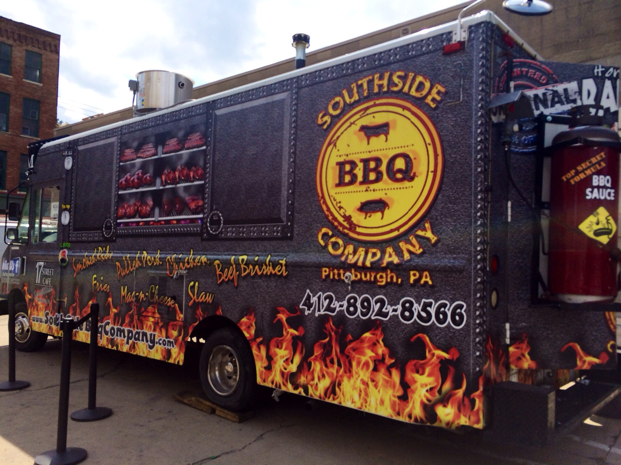 ... Food Trucks: On Board The South Side BBQ Truck! – Parmesan Princess