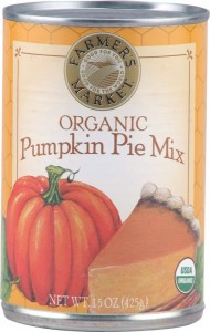 Pumpkin Pie Mix!