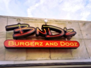 BnD'z! Burgerz and Dogz! Opens Monday!