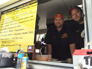 From left- Brent Cable, James Rich - Pittsburgh Taco Truck