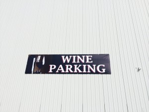 The Winemakers sign at Consumers Fresh Produce! Love it!