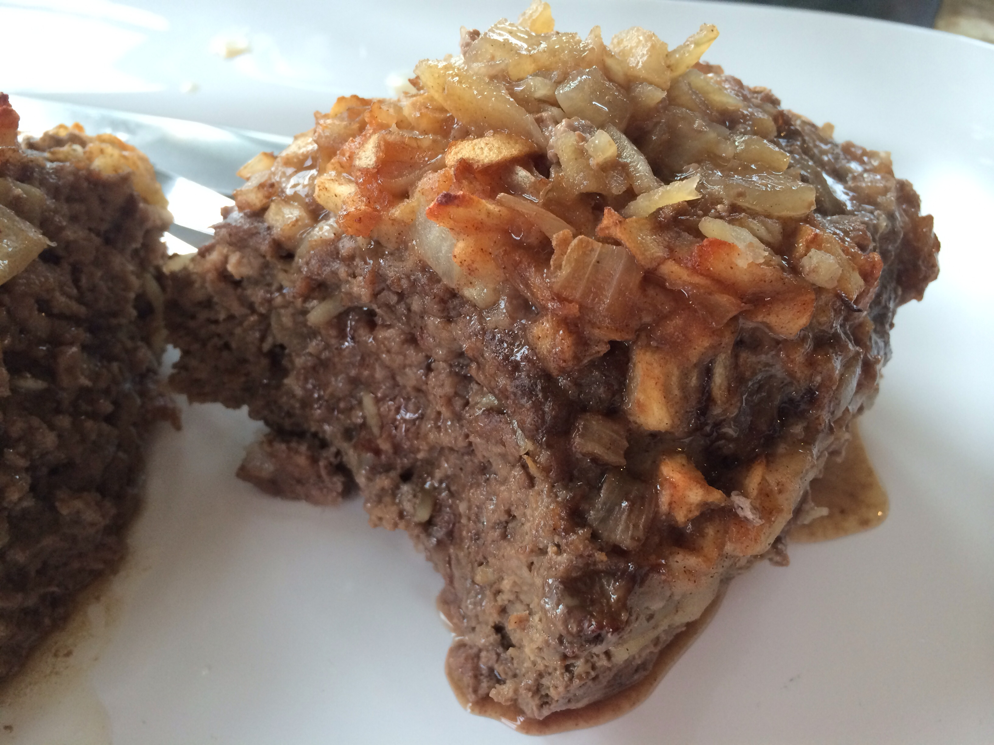 Hearty Apple Onion Meatloaf Fall Comfort Is On The Menu